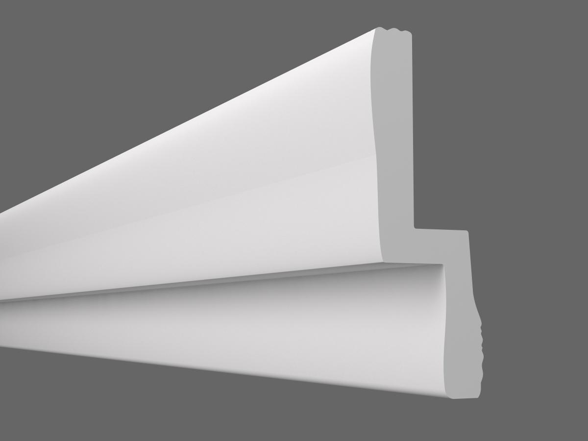 Потолочный плинтус C-110 (Размер:35х110мм)