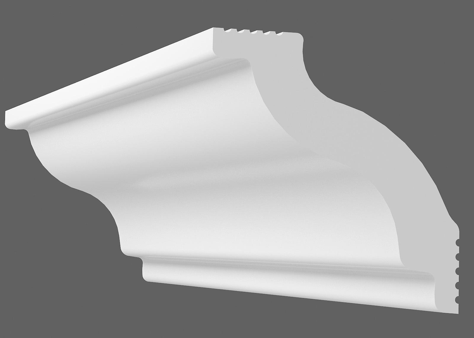 Потолочный плинтус C-45 (Размер:40х45мм)