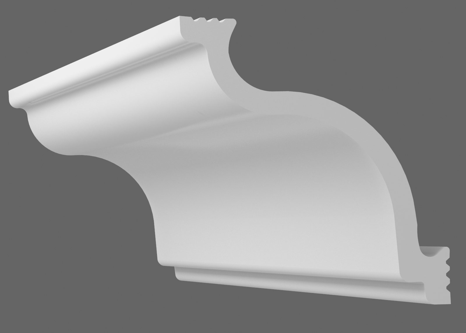 Потолочный плинтус C-65 (Размер:60х50мм)