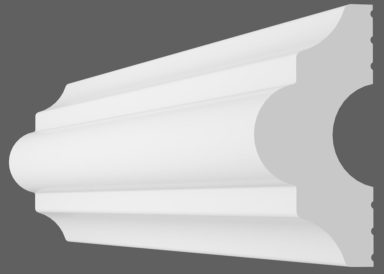 Потолочный плинтус I-40 (Размер:15х40мм)