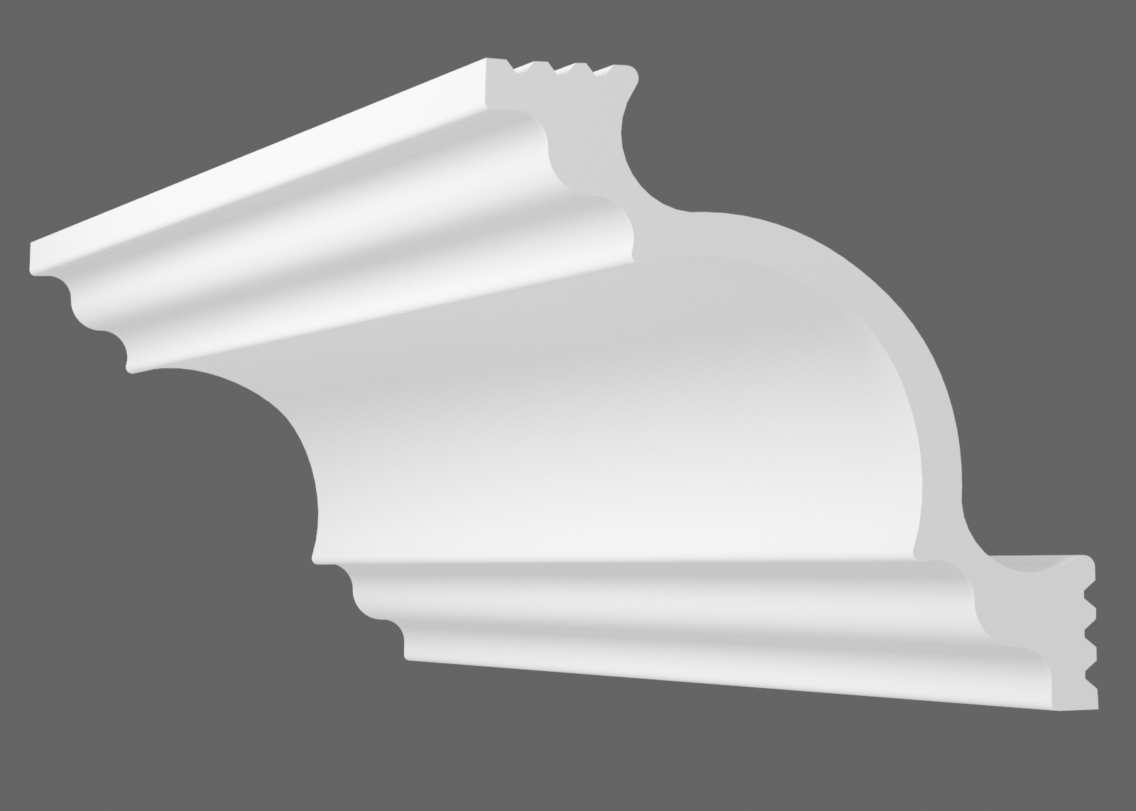 Потолочный плинтус К-200 (Размер:140х140мм)