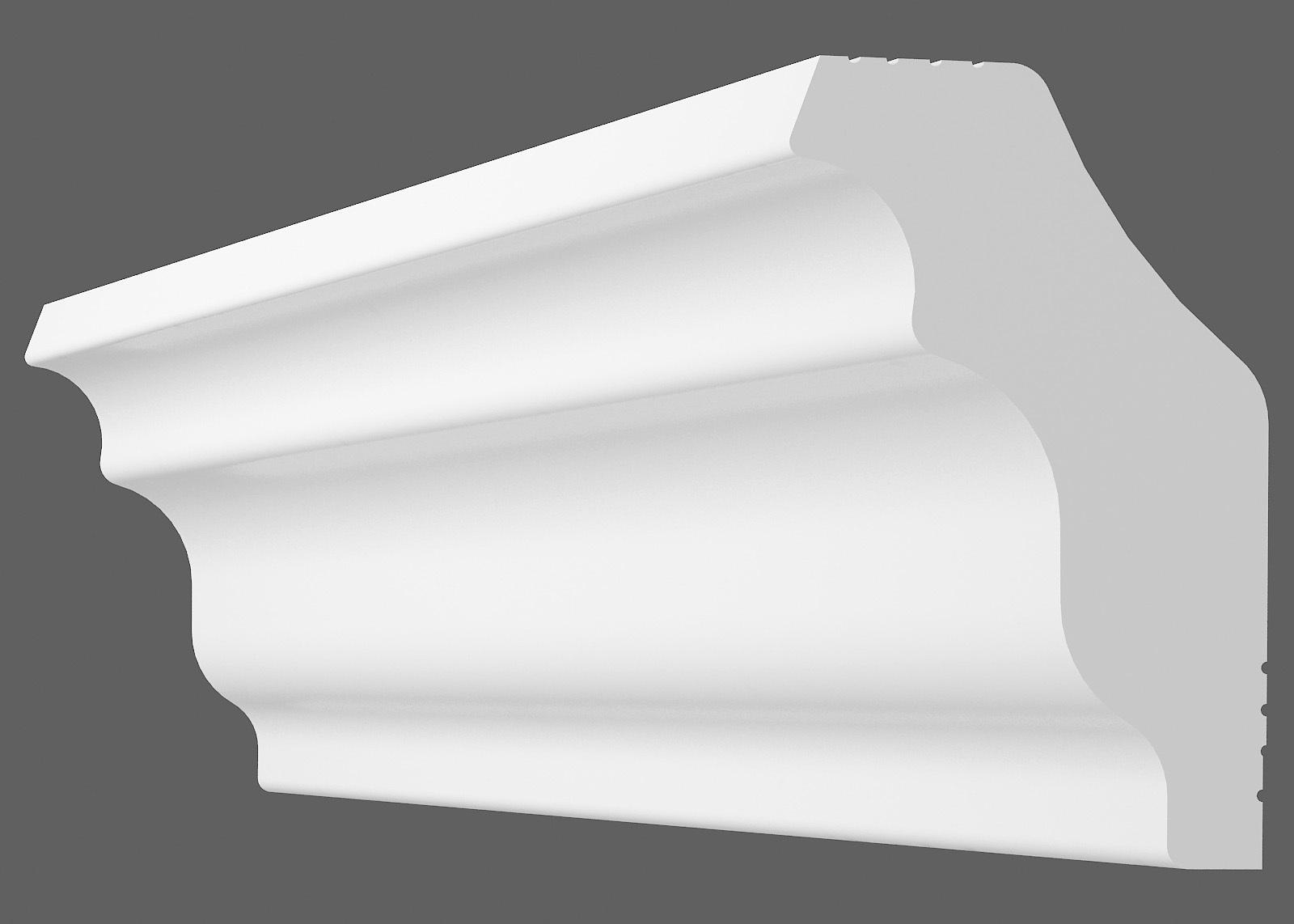 Потолочный плинтус M-35 (Размер:30х30мм)
