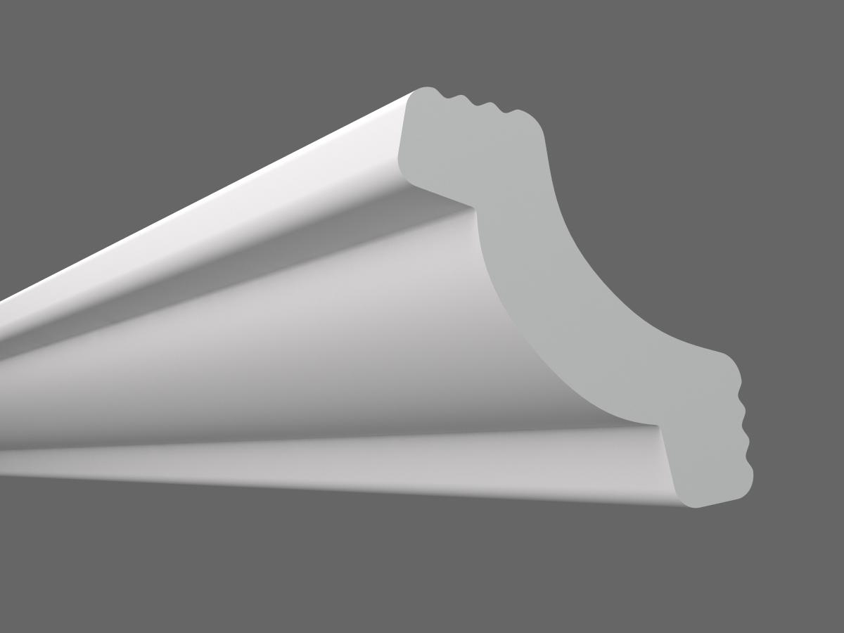 Потолочный плинтус Z-30 (Размер:25х25мм)